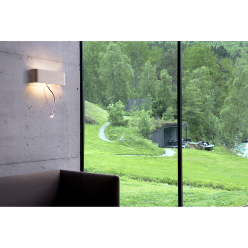 Marbel 1000615 SLV MANA 200 SPOT светильник настенный 11Вт с LED 3000K 490лм+80лм (30°) CRI>90, без плафона