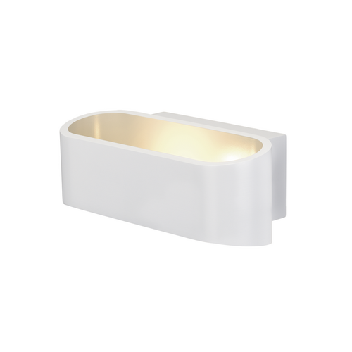 Marbel 1000636 SLV ASSO 70 LED Dim to Warm светильник настенный 12Вт с LED 2000-3000К, 530лм, CRI>90, белый