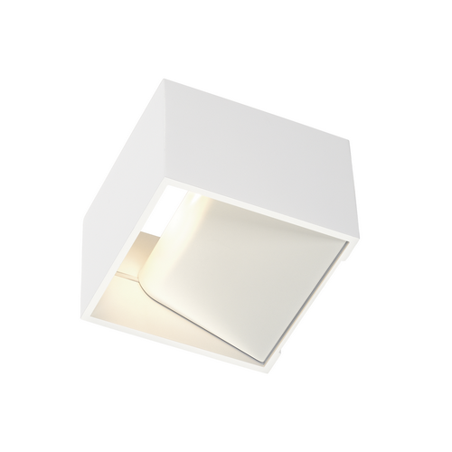 Marbel 1000639 SLV LOGS IN Dim to Warm светильник настенный 12Вт с LED 2000-3000K, 490лм, белый