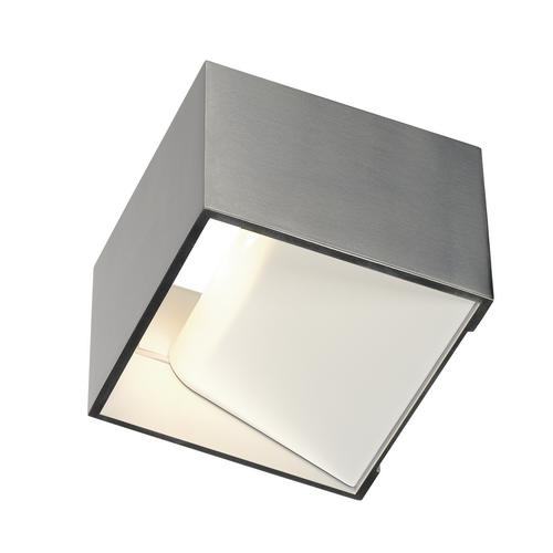 Marbel 1000640 SLV LOGS IN Dim to Warm светильник настенный 12Вт с LED 2000-3000K, 490лм, матированный алюм