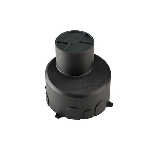 Marbel 1000653 SLV DASAR® 100 PREMIUM, корпус монтажный, встраиваемый в грунт, черный