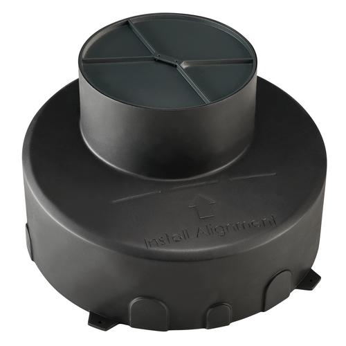 Marbel 1000655 SLV DASAR® 180 PREMIUM/ GIMBLE OUT, корпус монтажный, встраиваемый в грунт, черный