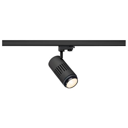 Marbel 1000656 SLV 3Ph, STRUCTEC ZOOM светильник 35Вт c LED 3000K, 2960-3120лм, 25°-60°, CRI>90, черный