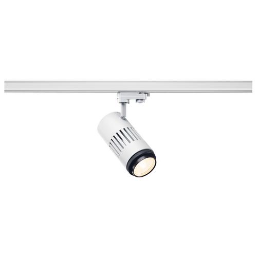 Marbel 1000657 SLV 3Ph, STRUCTEC ZOOM светильник 35Вт c LED 3000K, 2960-3120лм, 25°-60°, CRI>90, белый