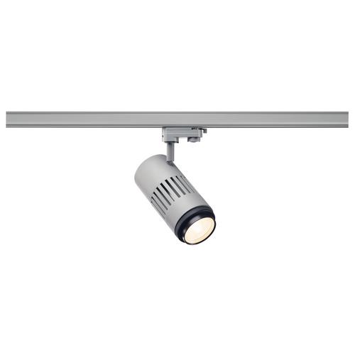 Marbel 1000658 SLV 3Ph, STRUCTEC ZOOM светильник 35Вт c LED 3000K, 2960-3120лм, 25°-60°, CRI>90, серебристы