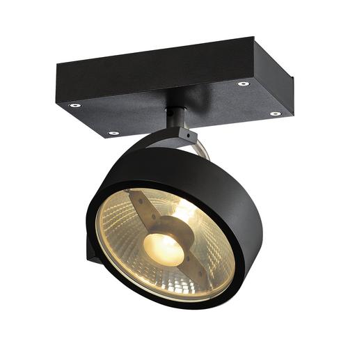 Marbel 1000702 SLV KALU 1 ES111 светильник накладной для лампы ES111 75Вт макс., черный