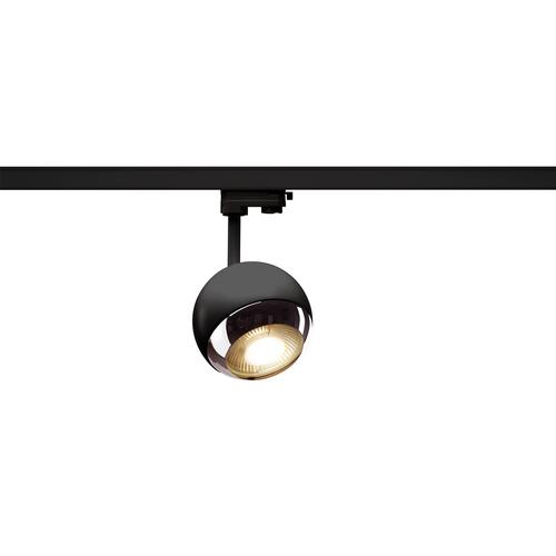 Marbel 1000707 SLV 3Ph, LIGHT EYE 150 SPOT светильник для лампы ES111 75Вт макс., черный/ хром