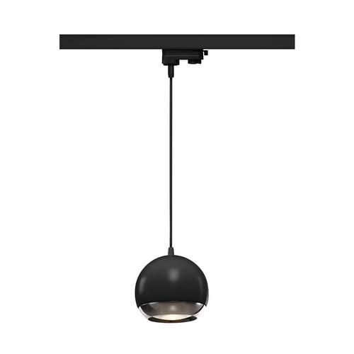 Marbel 1000709 SLV 3Ph, LIGHT EYE 150 PD светильник подвесной для лампы ES111 75Вт макс., черный/ хром