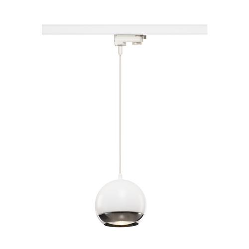 Marbel 1000710 SLV 3Ph, LIGHT EYE 150 PD светильник подвесной для лампы ES111 75Вт макс., белый/ хром