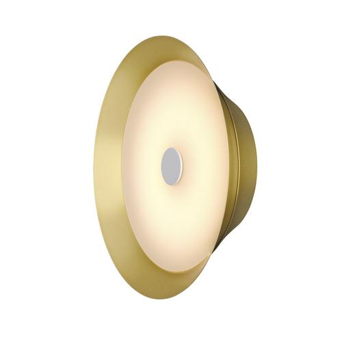 Marbel 1000745 SLV BATO 35 LED CW светильник накладной 15Вт с LED 2500К, 1050лм, 100°, латунь