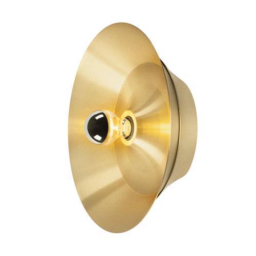 Marbel 1000748 SLV BATO 35 E27 CW светильник накладной для лампы E27 60Вт макс., латунь