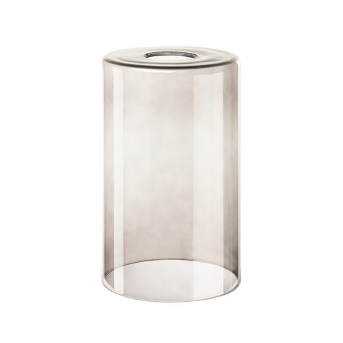 Marbel 1000773 SLV FENDA, плафон-цилиндр диам. 12.5см, для лампы E27 40Вт макс., стекло дымчатое