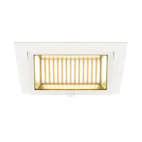 Marbel 1000792 SLV ALAMEA светильник встраиваемый 1000мА 36Вт с LED 3000К, 3600лм, CRI>90, без БП, белый