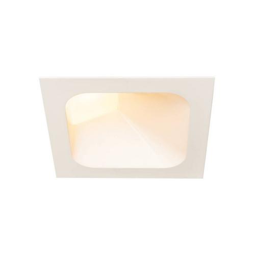 Marbel 1000796 SLV VERLUX 200 INDI светильник встраиваемый 16Вт с БП и LED 3000К, 1370лм, белый
