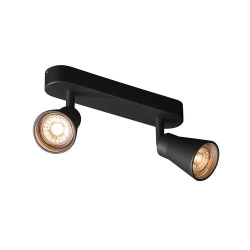 Marbel 1000889 SLV AVO DOUBLE CW светильник накладной для 2-х ламп GU10 по 50Вт макс., черный
