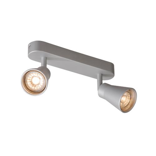 Marbel 1000891 SLV AVO DOUBLE CW светильник накладной для 2-х ламп GU10 по 50Вт макс., серебристый