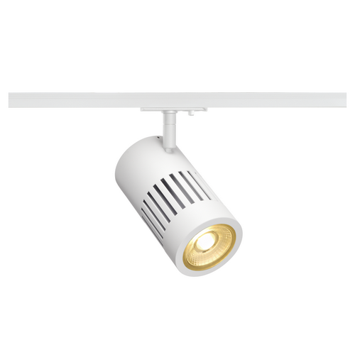 Marbel 1000975 SLV 1PHASE-TRACK, STRUCTEC светильник 28Вт с LED 3000К, 2700лм, 36°, CRI>90, белый (ex 14410