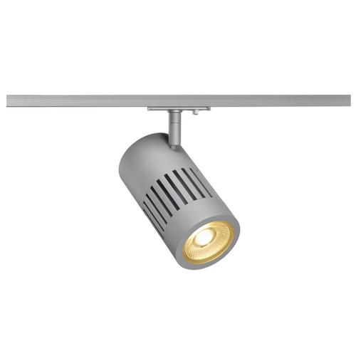 Marbel 1000976 SLV 1PHASE-TRACK, STRUCTEC светильник 28Вт с LED 3000К, 2700лм, 36°, CRI>90, серебристый (ex