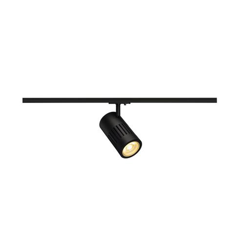 Marbel 1000977 SLV 1PHASE-TRACK, STRUCTEC светильник 28Вт с LED 3000К, 2650лм, 60°, CRI>90, черный (ex 1441