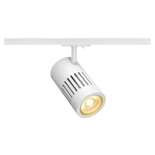 Marbel 1000978 SLV 1PHASE-TRACK, STRUCTEC светильник 28Вт с LED 3000К, 2650лм, 60°, CRI>90, белый (ex 14411