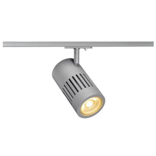 Marbel 1000979 SLV 1PHASE-TRACK, STRUCTEC светильник 28Вт с LED 3000К, 2650лм, 60°, CRI>90, серебристый (ex