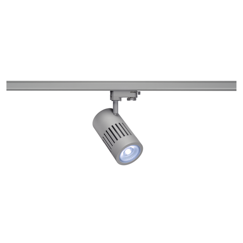 Marbel 1000991 SLV 3Ph, STRUCTEC светильник 28Вт с LED 4000К, 2750лм, 60°, CRI>90, серебристый (ex 176034)