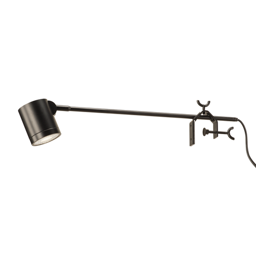 Marbel 1001009 SLV ANELA LED DISPLAY светильник на струбцине 10Вт с LED 4000К, 750лм, 50°, с выключателем,