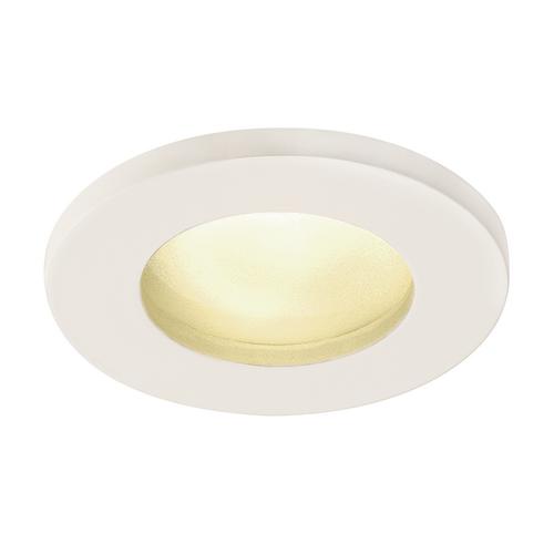 Marbel 1001157 SLV DOLIX OUT ROUND MR16 светильник встраиваемый IP65 12В для лампы MR16 50Вт макс., белый (