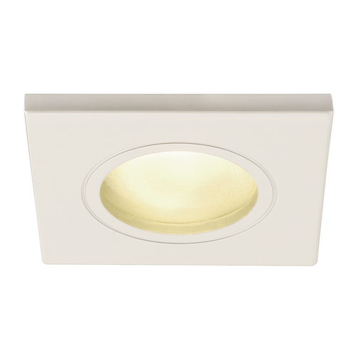 Marbel 1001161 SLV DOLIX OUT SQUARE MR16 светильник встраиваемый IP65 12В для лампы MR16 50Вт макс., белый
