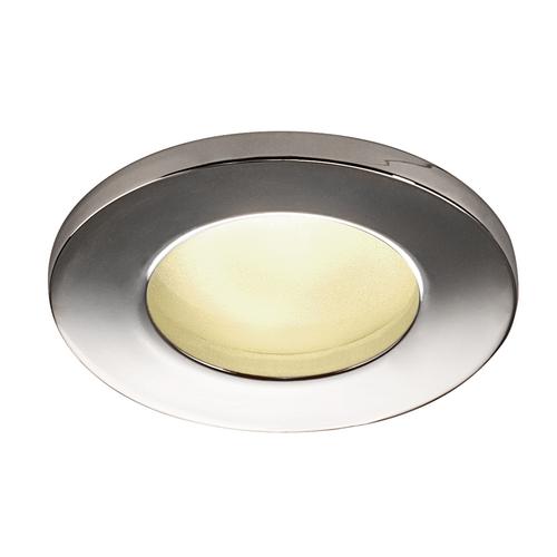 Marbel 1001166 SLV DOLIX OUT ROUND GU10 светильник встраиваемый IP65 для лампы GU10 50Вт макс., хром (ex 11