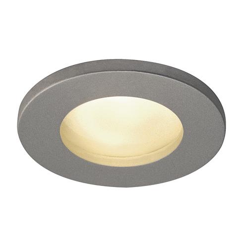 Marbel 1001167 SLV DOLIX OUT ROUND GU10 светильник встраиваемый IP65 для лампы GU10 50Вт макс., серебристый