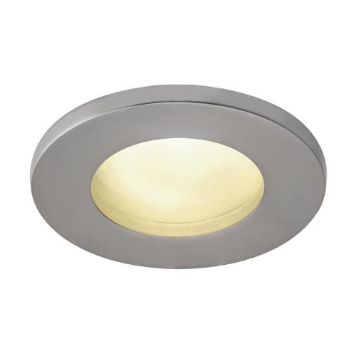 Marbel 1001168 SLV DOLIX OUT ROUND GU10 светильник встраиваемый IP65 для лампы GU10 50Вт макс., матовый хро