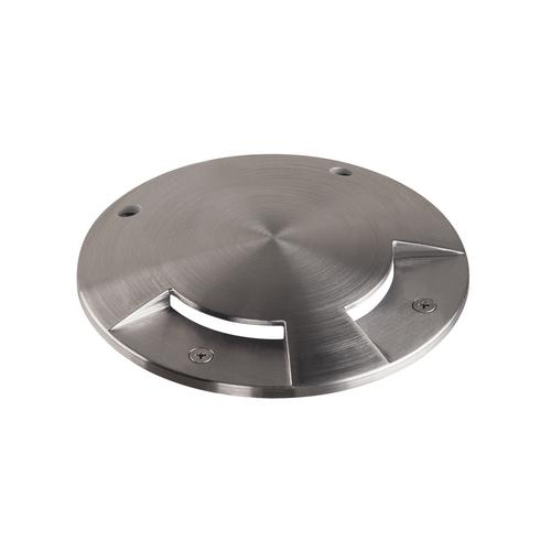 Marbel 1001254 SLV BIG PLOT COVER 2 SLOTS накладка на светильник, 2 сектора, сталь