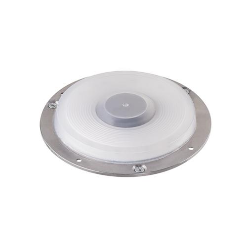 Marbel 1001256 SLV BIG PLOT светильник накладной IP67 5.5Вт с LED 3000K, 460лм, без накладки, алюминий