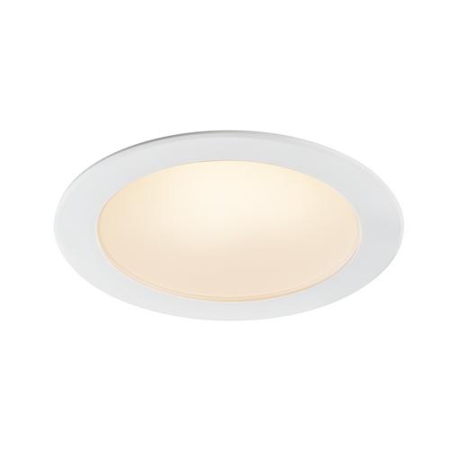 Marbel 1001264 SLV AKALO 83 DL светильник встраиваемый 9Вт с LED 3000/4200/5700K, 800/880/850лм, 90°, белый