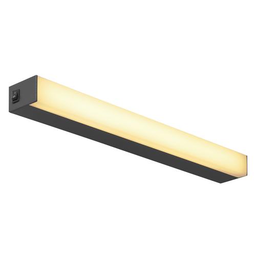 Marbel 1001283 SLV SIGHT 60 светильник накладной 20Вт c выключателем и LED 3000К, 1490лм, черный