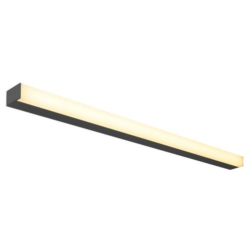 Marbel 1001286 SLV SIGHT 115 светильник накладной 37.3Вт c LED 3000К, 3100лм, черный (ex 160190)