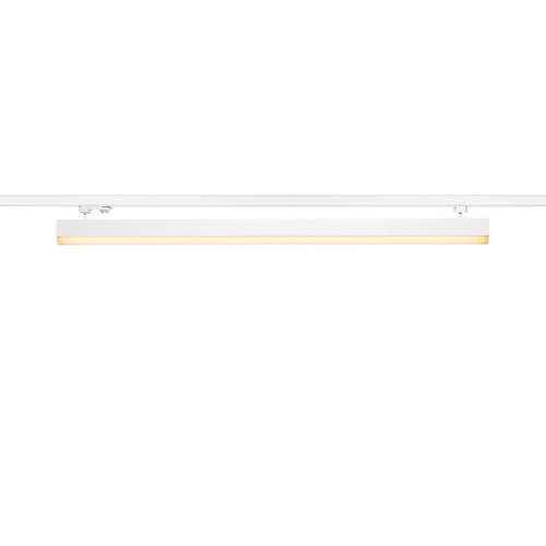 Marbel 1001290 SLV 3Ph, SIGHT светильник 37.3Вт с LED 3000К, 3100лм, 120°, UGR<28, белый (ex 153611)