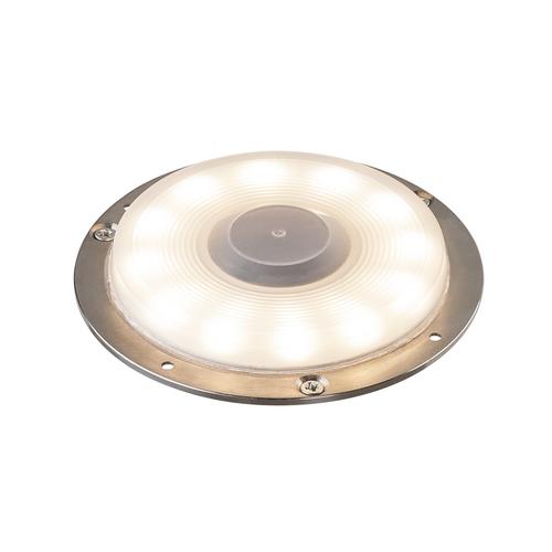 Marbel 1001359 SLV BIG PLOT светильник накладной IP67 5.5Вт с LED 3000K, 460лм, без накладки, сталь