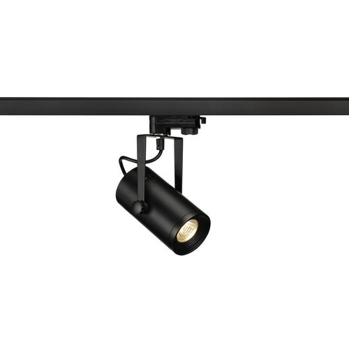 Marbel 1001367 SLV 3Ph, EURO SPOT LED SMALL светильник 11Вт с LED 3000К, 650лм, 36°, черный (ex 153800)