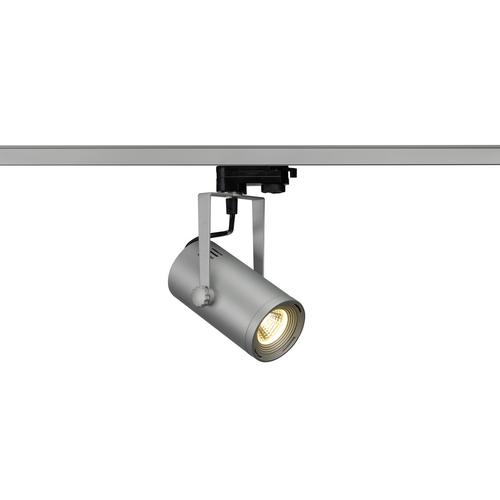 Marbel 1001369 SLV 3Ph, EURO SPOT LED SMALL светильник 11Вт с LED 3000К, 650лм, 36°, серебристый (ex 153804