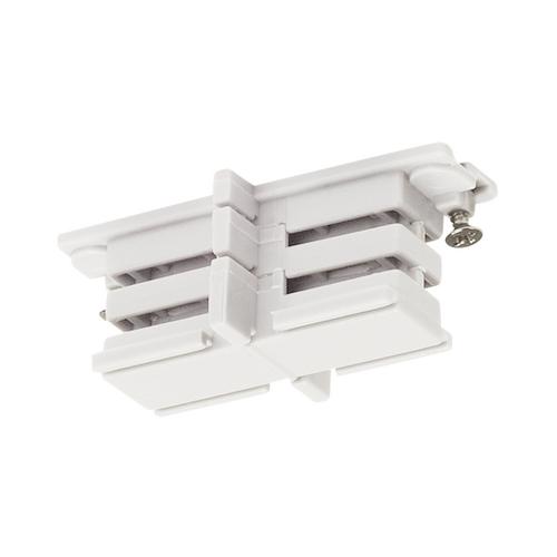 Marbel 1001382 SLV 3Ph | S-TRACK, коннектор прямой внутренний изолирующий, белый RAL9016 (ex 175081)