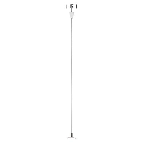 Marbel 1001390 SLV 3Ph | S-TRACK, стойка потолочная, 1м, белый RAL9016 (ex 175161)