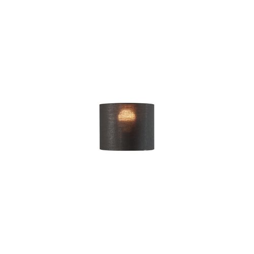 Marbel 1001452 SLV FENDA, абажур-цилиндр диам. 20 см, черный/ медь (40Вт макс.)
