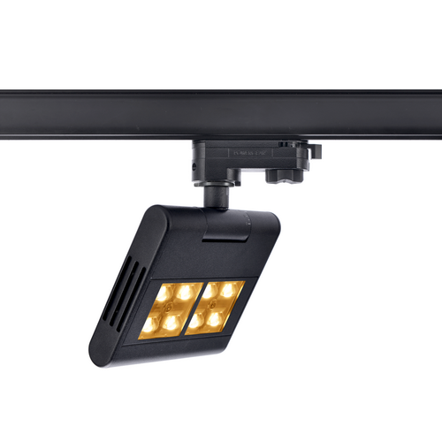 Marbel 1001467 SLV 3Ph, LENITO светильник 23Вт с LED 3000К, 2450лм, 120°, черный