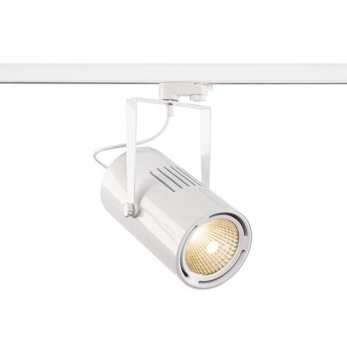 Marbel 1001477 SLV 3Ph, EURO SPOT LED LARGE светильник 61Вт с LED 3000К, 5500лм, 12°, белый