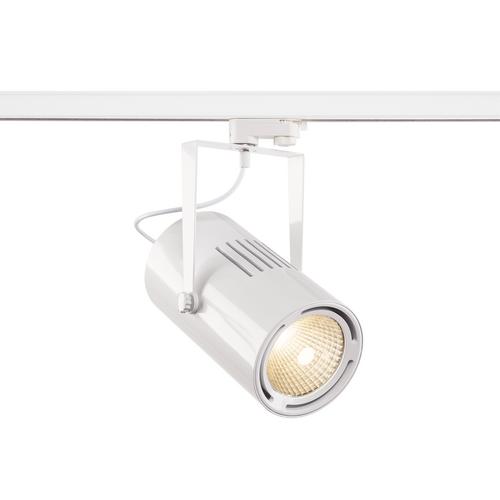 Marbel 1001480 SLV 3Ph, EURO SPOT LED LARGE светильник 61Вт с LED 3000К, 5500лм, 38°, белый