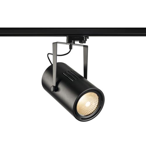 Marbel 1001484 SLV 3Ph, EURO SPOT LED LARGE светильник 61Вт с LED 3000К, 5500лм, 38°, черный