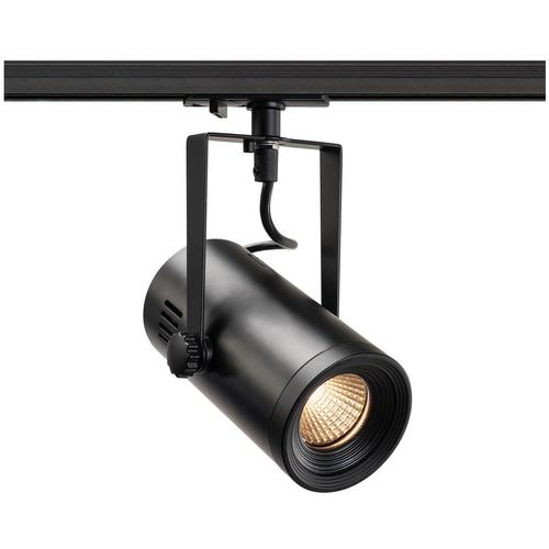 Marbel 1001485 SLV 1PHASE-TRACK, EURO SPOT LED SMALL светильник 11Вт с LED 3000К, 650лм, 36°, черный
