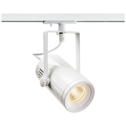 Marbel 1001486 SLV 1PHASE-TRACK, EURO SPOT LED SMALL светильник 11Вт с LED 3000К, 650лм, 36°, белый